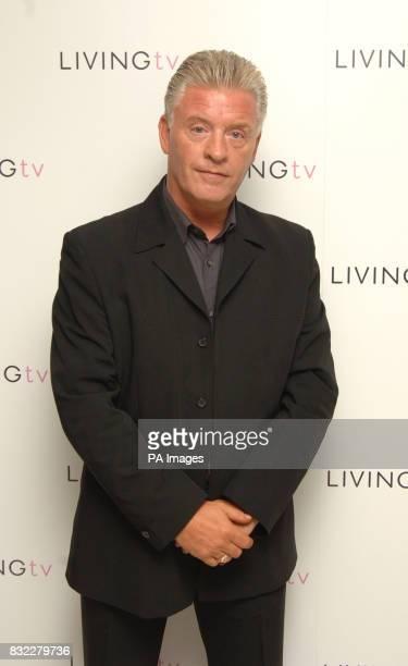 Derek Acorah attends the Living TV Autumn Schedule Launch at Nobu Berkeley central London