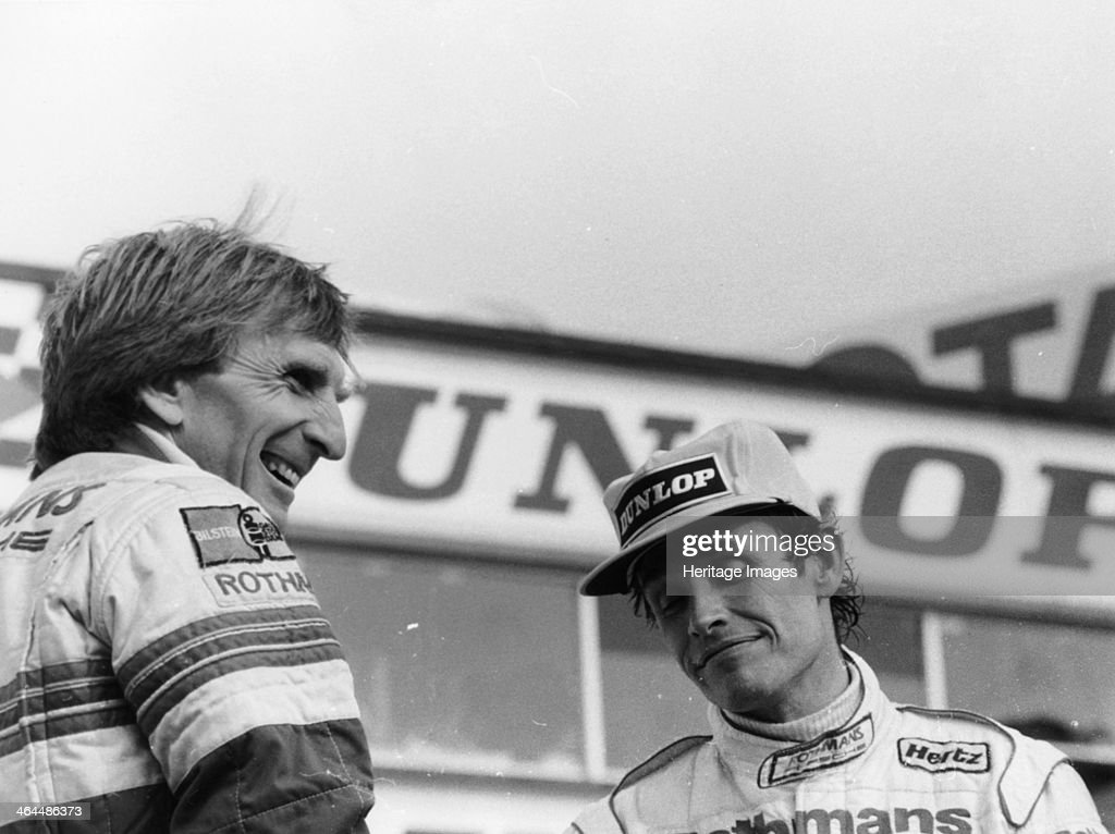 Derek Bell and Jacky Ickx 1000km Silverstone May 1985 Jacky Ickx was the winner of this race together with his codriver Jochen Mass while Bell and...