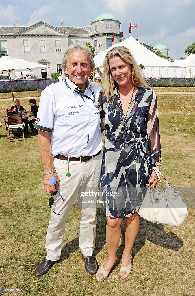 Derek Bell (L) and Misti Bell attend the Cartier Style & Luxury Lunch at the Goodwood Festival of Speed on July 14, 2013 in Chichester, England.