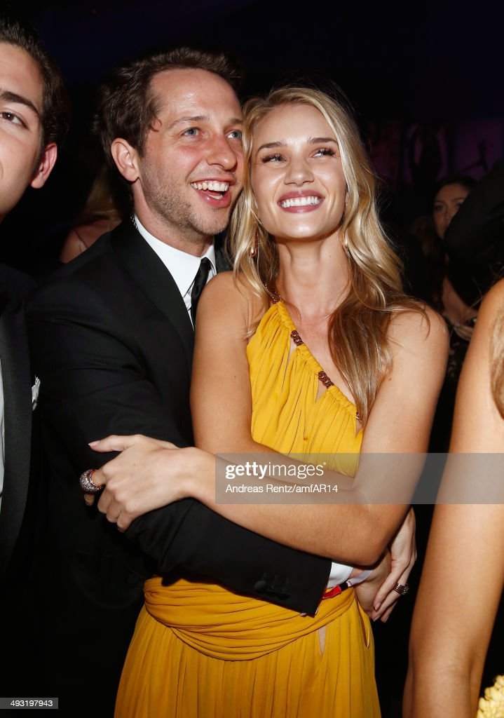 <a gi-track='captionPersonalityLinkClicked' href=/galleries/search?phrase=Derek+Blasberg&family=editorial&specificpeople=856710 ng-click='$event.stopPropagation()'>Derek Blasberg</a> and <a gi-track='captionPersonalityLinkClicked' href=/galleries/search?phrase=Rosie+Huntington-Whiteley&family=editorial&specificpeople=2244343 ng-click='$event.stopPropagation()'>Rosie Huntington-Whiteley</a> attend amfAR's 21st Cinema Against AIDS Gala Presented By WORLDVIEW, BOLD FILMS, And BVLGARI at Hotel du Cap-Eden-Roc on May 22, 2014 in Cap d'Antibes, France.