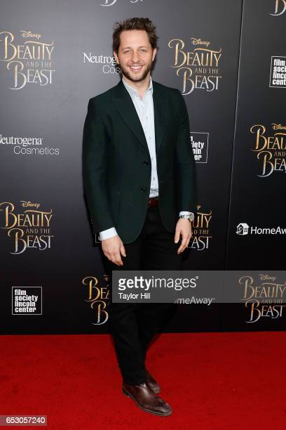 Derek Blasberg attends the 'Beauty and the Beast' New York screening at Alice Tully Hall Lincoln Center on March 13 2017 in New York City