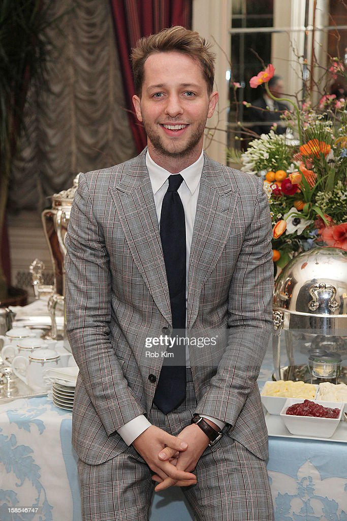 Derek Blasberg attends the Derek Blasberg for Opening Ceremony Stationery launch party at the Saint Regis Hotel on December 18, 2012 in New York City.