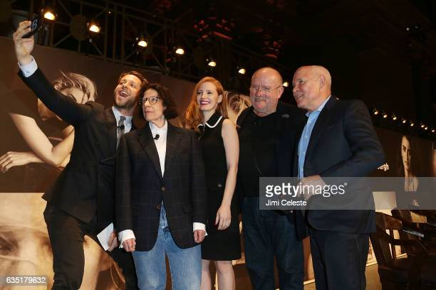 Derek Blasberg Fran Lebowitz Jessica Chastian Steve McCurry and Peter Linbergh attend The Pirelli Calendar Presents Peter Lindbergh On Beauty at...