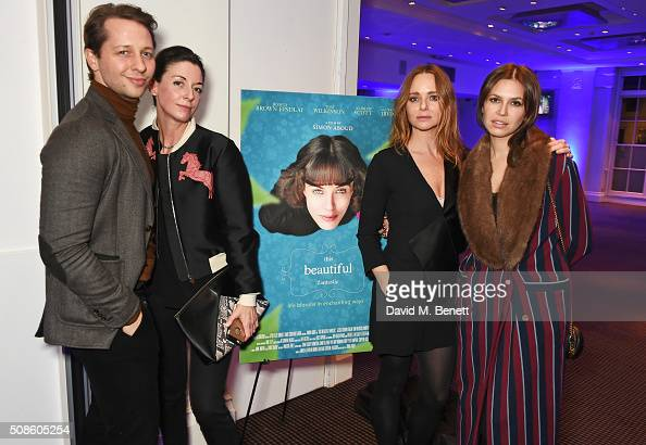 Derek Blasberg Mary McCartney Stella McCartney and Dasha Zhukova attend a cast and crew screening of 'This Beautiful Fantastic' at BAFTA on February...