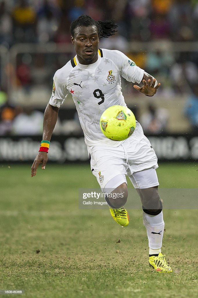 Derek Boateng Owusu from Ghana during the 2013 Orange African Cup of Nations 2nd Semi Final match between Burkina Faso and Ghana at Mbombela Stadium on February 06, 2013 in Nelspruit, South Africa.