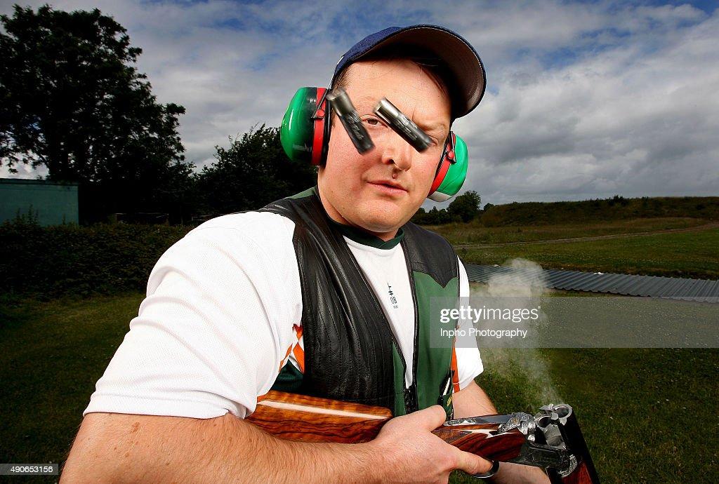Derek Burnett, Irish Olympic shooter, 2008, Mandatory Credit ©INPHO/Dan Sheridan