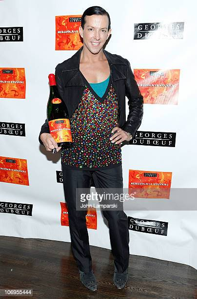 Derek Fabulous attends the 2010 Georges Duboeuf Beaujolais Nouveau celebration at District 36 on November 18 2010 in New York City