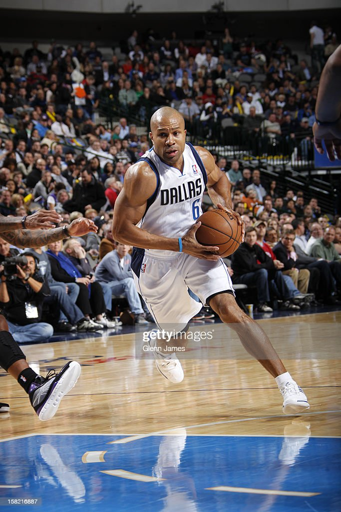 <a gi-track='captionPersonalityLinkClicked' href=/galleries/search?phrase=Derek+Fisher&family=editorial&specificpeople=201724 ng-click='$event.stopPropagation()'>Derek Fisher</a> #6 of the Dallas Mavericks drives to the basket against the Sacramento Kings on December 10, 2012 at the American Airlines Center in Dallas, Texas.
