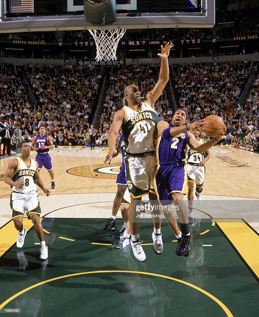 L A Lakers v Seattle Sonics s and