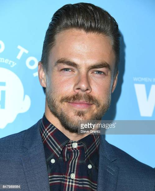 Derek Hough arrives at the Variety And Women In Film's 2017 PreEmmy Celebration at Gracias Madre on September 15 2017 in West Hollywood California