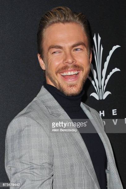 Derek Hough attends A California Christmas at The Grove Presented by Citi on November 12 2017 in Los Angeles California