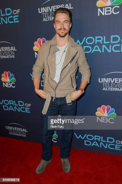 Derek Hough attends NBC's 'World Of Dance' Celebration at Delilah on September 19 2017 in West Hollywood California