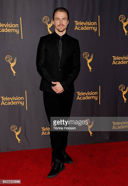 Derek Hough attends Television Academy's 'Whose Dance Is It Anyway' celebration at Saban Media Center on February 16 2017 in North Hollywood...