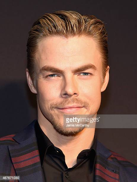 Derek Hough attends the 2015 New York Spring Spectacular at Radio City Music Hall on March 26 2015 in New York City