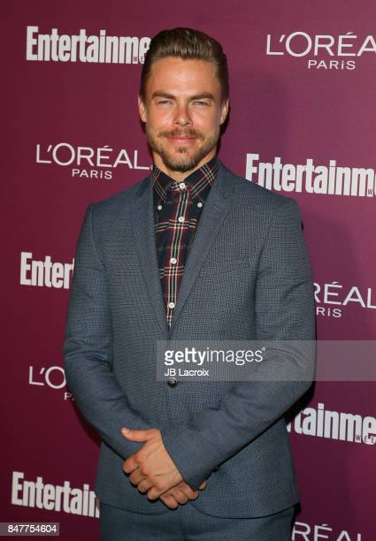 Derek Hough attends the 2017 Entertainment Weekly PreEmmy Party at Sunset Tower on September 15 2017 in West Hollywood California