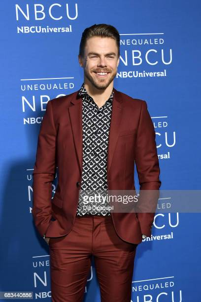 Derek Hough attends the 2017 NBCUniversal Upfront at Radio City Music Hall on May 15 2017 in New York City