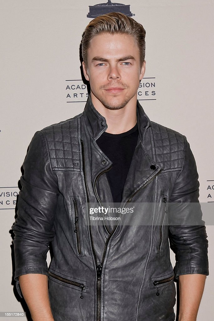 Derek Hough attends the Academy of Television Arts & Sciences' 'The Choreographers: Yesterday, Today & Tomorrow' event at Leonard H. Goldenson Theatre on November 1, 2012 in North Hollywood, California.