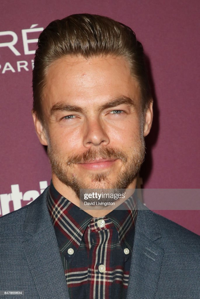 Derek Hough attends the Entertainment Weekly's 2017 Pre-Emmy Party at the Sunset Tower Hotel on September 15, 2017 in West Hollywood, California.