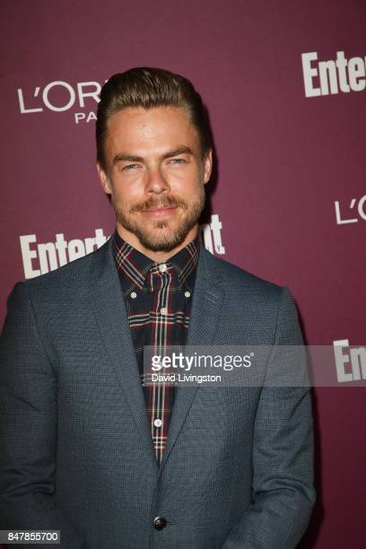 Derek Hough attends the Entertainment Weekly's 2017 PreEmmy Party at the Sunset Tower Hotel on September 15 2017 in West Hollywood California