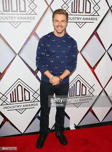 Derek Hough attends the World Of Dance Industry Awards on February 7 2017 in Los Angeles California