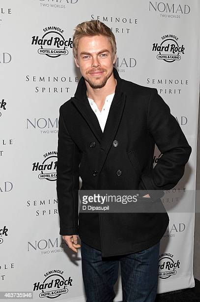 Derek Hough attends the'Seminole Spirit' Art Exhibition Party at Stephen Weiss Studio on February 17 2015 in New York City