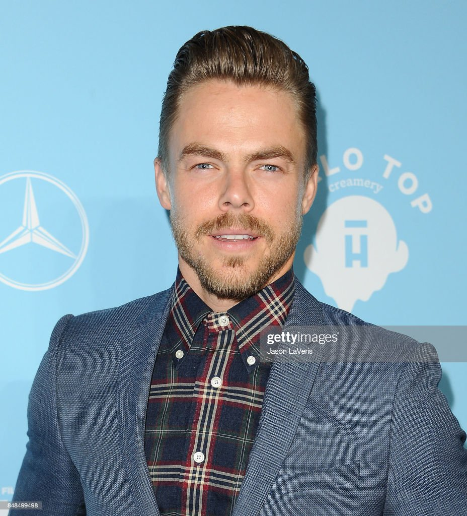 Derek Hough attends Variety and Women In Film's 2017 pre-Emmy celebration at Gracias Madre on September 15, 2017 in West Hollywood, California.