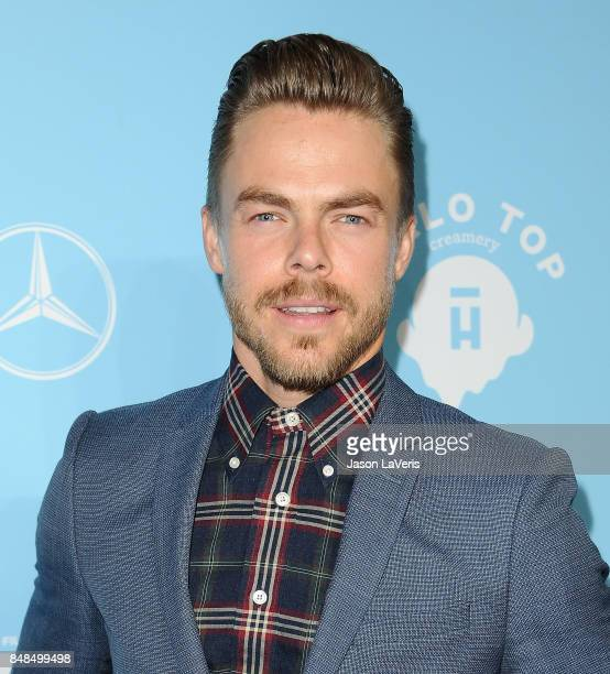 Derek Hough attends Variety and Women In Film's 2017 preEmmy celebration at Gracias Madre on September 15 2017 in West Hollywood California