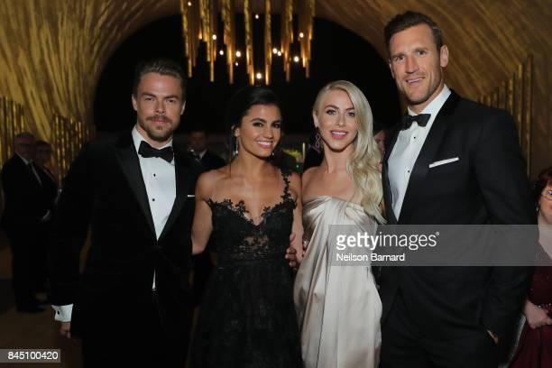 Derek Hough Hayley Erbert Julianne Hough and Brooks Laich attend the 2017 Creative Arts Emmy Awards Creative Arts Ball on September 9 2017 in Los...