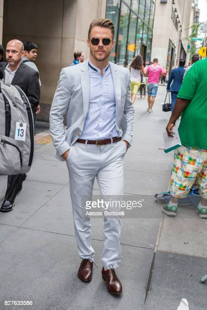 Derek Hough is seen on 'Today Show' on August 8 2017 in New York City