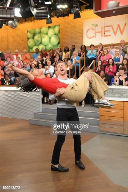 THE CHEW Derek Hough is the guest on 'The Chew' for Monday June 12 2017 'The Chew' airs MONDAY FRIDAY on the ABC Television Network HOUGH