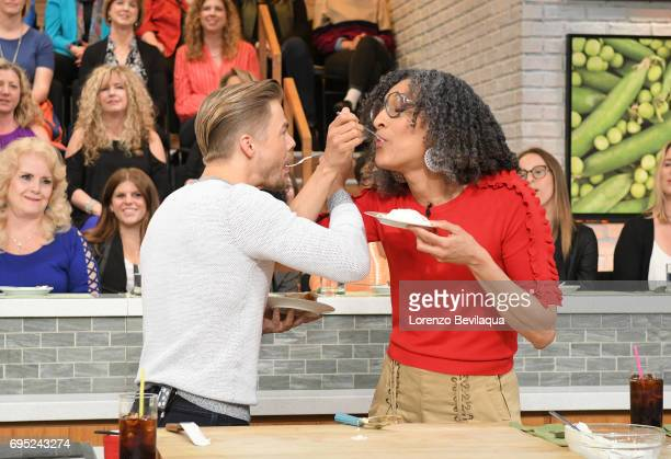 THE CHEW Derek Hough is the guest on 'The Chew' for Monday June 12 2017 'The Chew' airs MONDAY FRIDAY on the ABC Television Network HALL