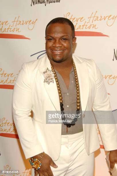 Derek J attends The 1st Annual STEVE HARVEY FOUNDATION Gala at Cipriani Wall Street on May 3 2010 in New York City