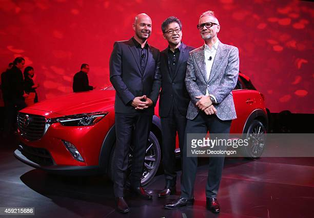 Derek Jenkins Director of Design Mazda North American Operations Ikuo Maeda Executive Officer Design Chief Mazda and Kevin Michael Rice Creative...
