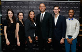 Derek Jeter and Juilliard students attend Movado Hosts A Special Event At The Juilliard School For Derek Jeter's Turn 2 Foundation at the Juilliard...