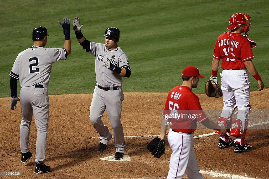 New York Yankees v Texas Rangers, Game 1