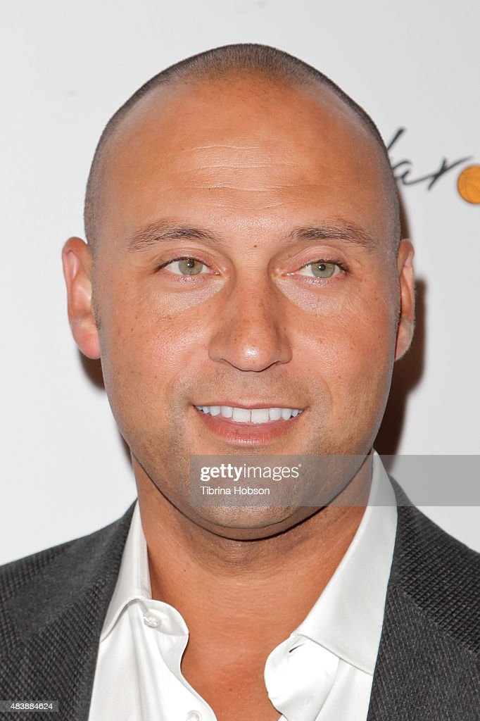 Derek Jeter attends the 15th annual Harold and Carole Pump Foundation gala at the Hyatt Regency Century Plaza on August 7, 2015 in Los Angeles, California.