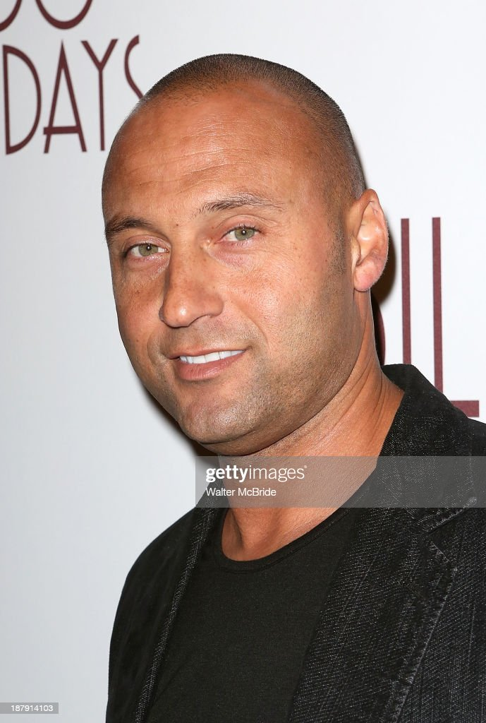 <a gi-track='captionPersonalityLinkClicked' href=/galleries/search?phrase=Derek+Jeter&family=editorial&specificpeople=167125 ng-click='$event.stopPropagation()'>Derek Jeter</a> attends the 'Billy Crystal - 700 Sundays' Broadway Opening Night Performance at the Imperial Theatre on November 13, 2013 in New York City.