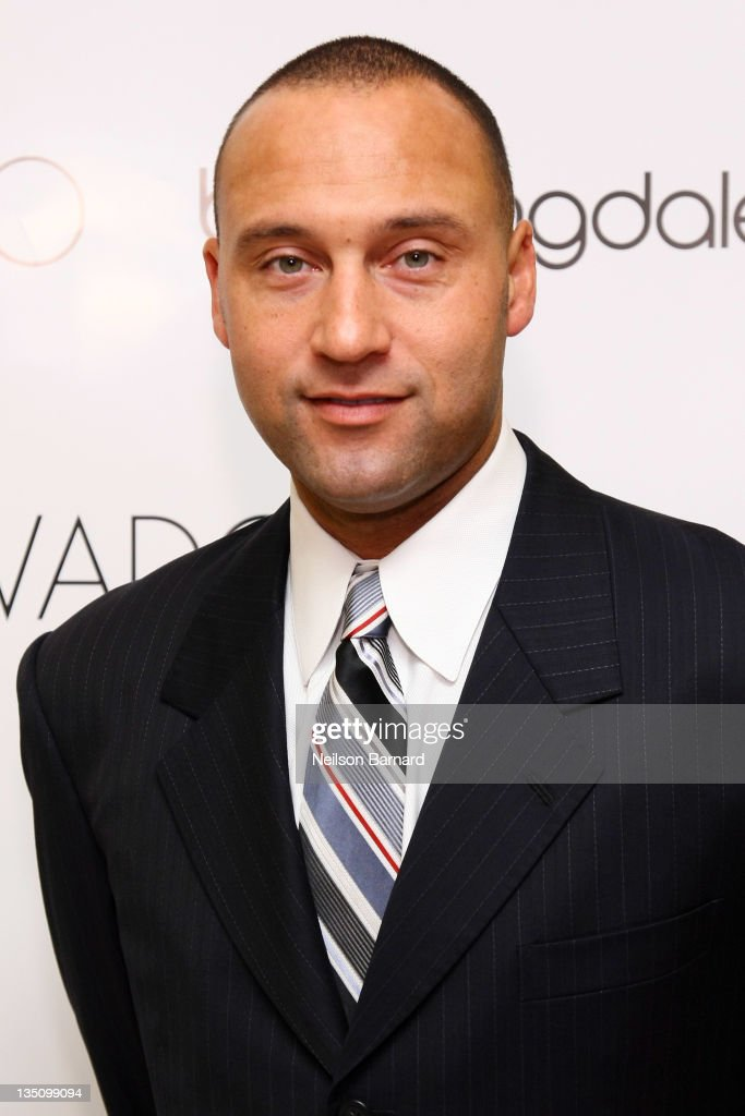 <a gi-track='captionPersonalityLinkClicked' href=/galleries/search?phrase=Derek+Jeter&family=editorial&specificpeople=167125 ng-click='$event.stopPropagation()'>Derek Jeter</a> attends the Celebration of his 3,000 Hit Limited Edition Movado BOLD Watch in which a portion of proceeds benefit the Turn 2 Foundation at the Bloomingdale's 59th Street Store on December 6, 2011 in New York City.
