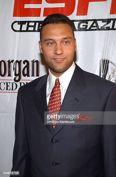 Derek Jeter during Party for ESPN The Magazine's 'Next' 2003 Athlete Year End Issue at EXIT in New York City New York United States