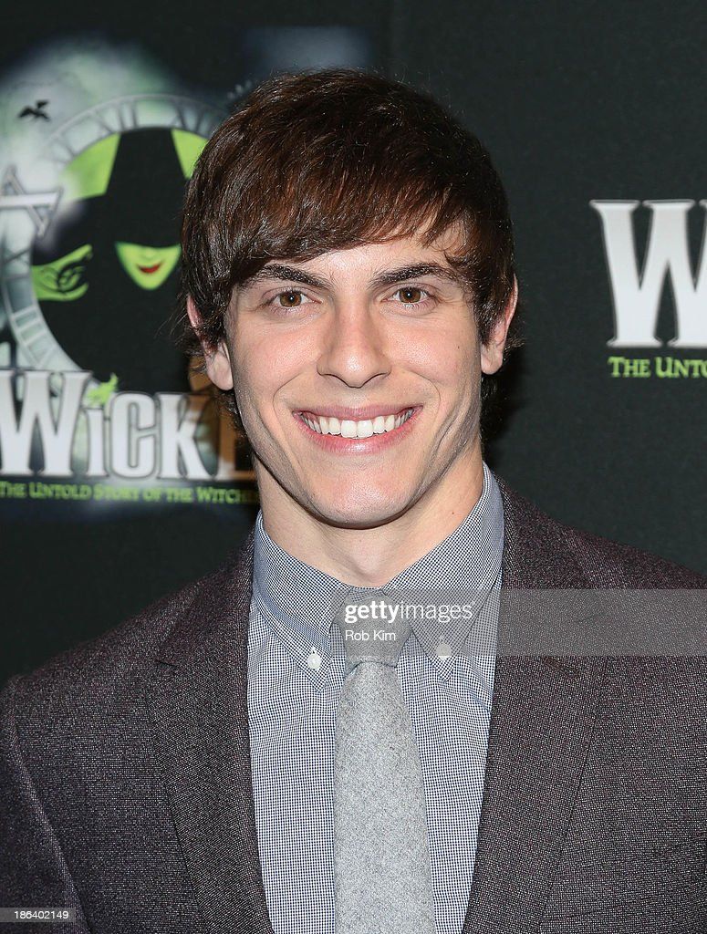 Derek Klena attends the after party for the 'Wicked' 10th anniversary on Broadway at The Edison Ballroom on October 30, 2013 in New York City.