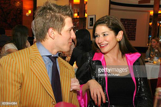 Derek Koch and Randle Doss attend An Intimate Evening of Food Fashion and Gossip with the Inimitable Jackie Rogers at Jour et Nuit on March 26 2007...