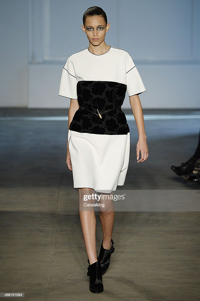 Derek Lam Autumn Winter 2014 fashion show during New York Fashion Week on February 9, 2014 in New York, United States.