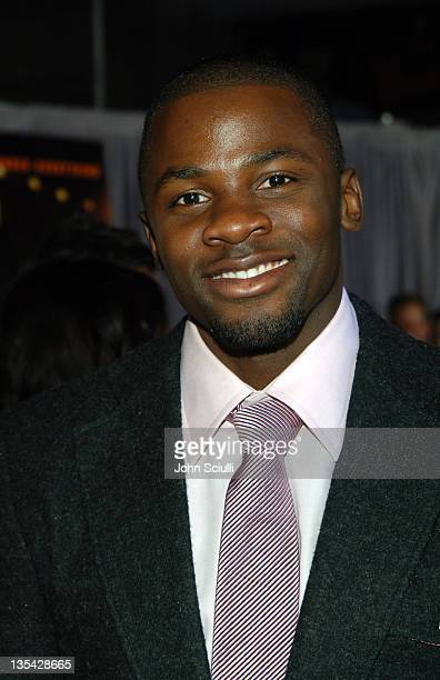 Derek Luke during 'Glory Road' World Premiere Red Carpet at The Pantages Theater in Los Angeles California United States