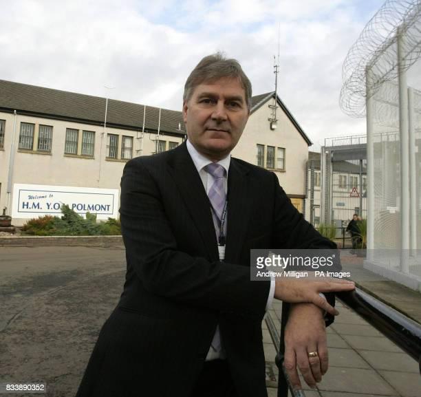 Derek McGill governer at HMYOI Polmont after Chief inspector of prisons Dr Andrew McLellan's report revealed overcrowding at the detention centre for...