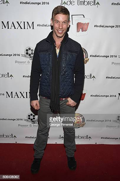 Derek Opperman attends the Life Style Weekly And Svedka's Sundance Partyat Indie Lounge on January 22 2016 in Park City Utah