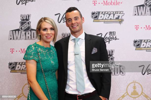 Derek Ryan of the Carolina Hurricanes attends the 2017 NHL Awards at TMobile Arena on June 21 2017 in Las Vegas Nevada