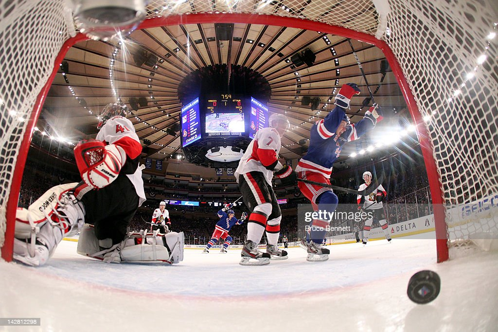 Ottawa Senators v New York Rangers - Game One