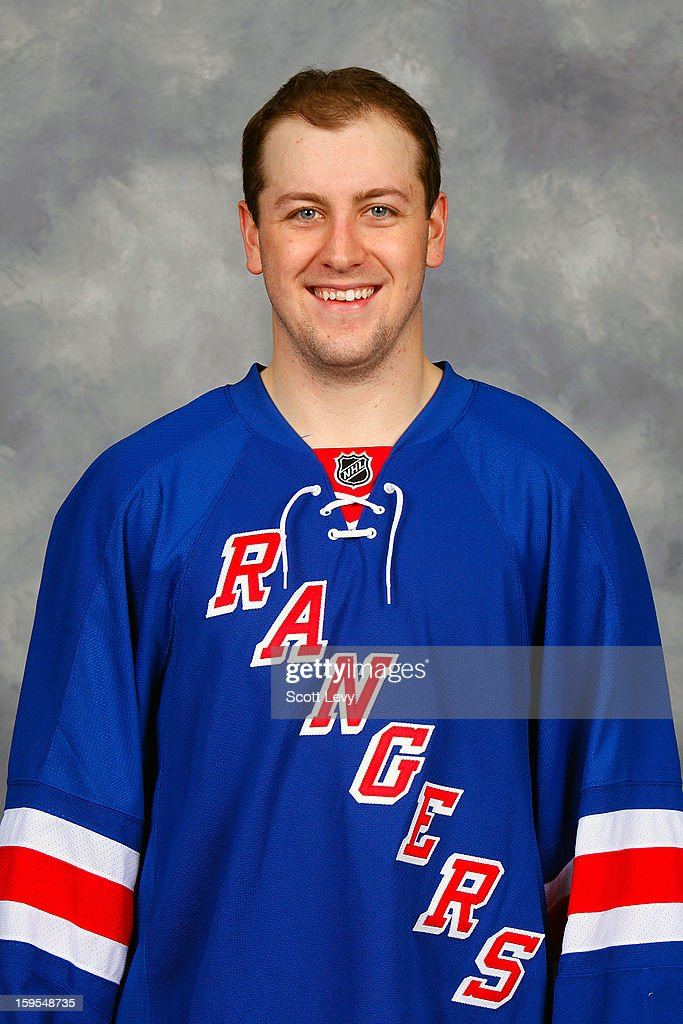 Derek Stepan #21 of the New York Rangers poses for his official head shot for the 2012-2013 season on January 13, 2013 at the Madison Square Garden Training Center in Tarrytown, New York.