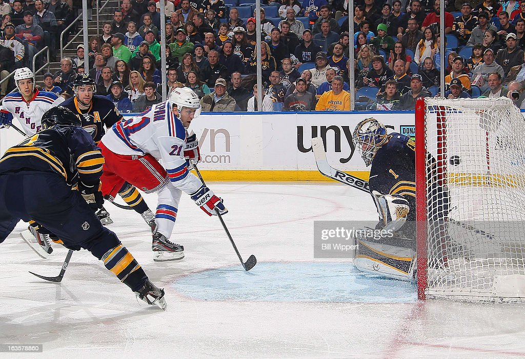 New York Rangers v Buffalo Sabres