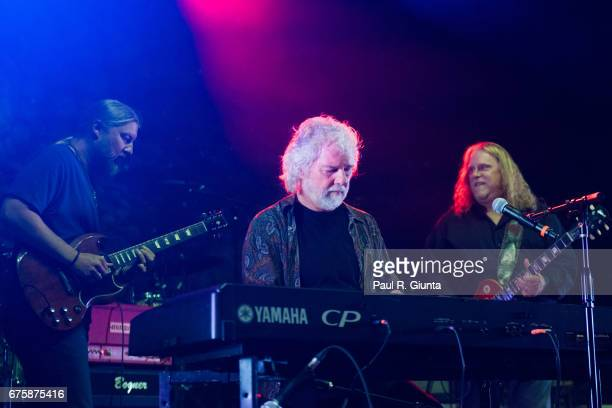 Derek Trucks Chuck Leavell and Warren Haynes perform on stage during Hampton 70 at The Fox Theatre on May 1 2017 in Atlanta Georgia